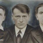 Na fotografii od lewej: Bronisław (4 VII 1921 – 4 XII 1942), Władysław (zm. 4 XII 1942) i Stanisław (15 VII 1919 – 4 XII 1942) Decowie. Wszyscy bracia zginęli za pomaganie Żydom.