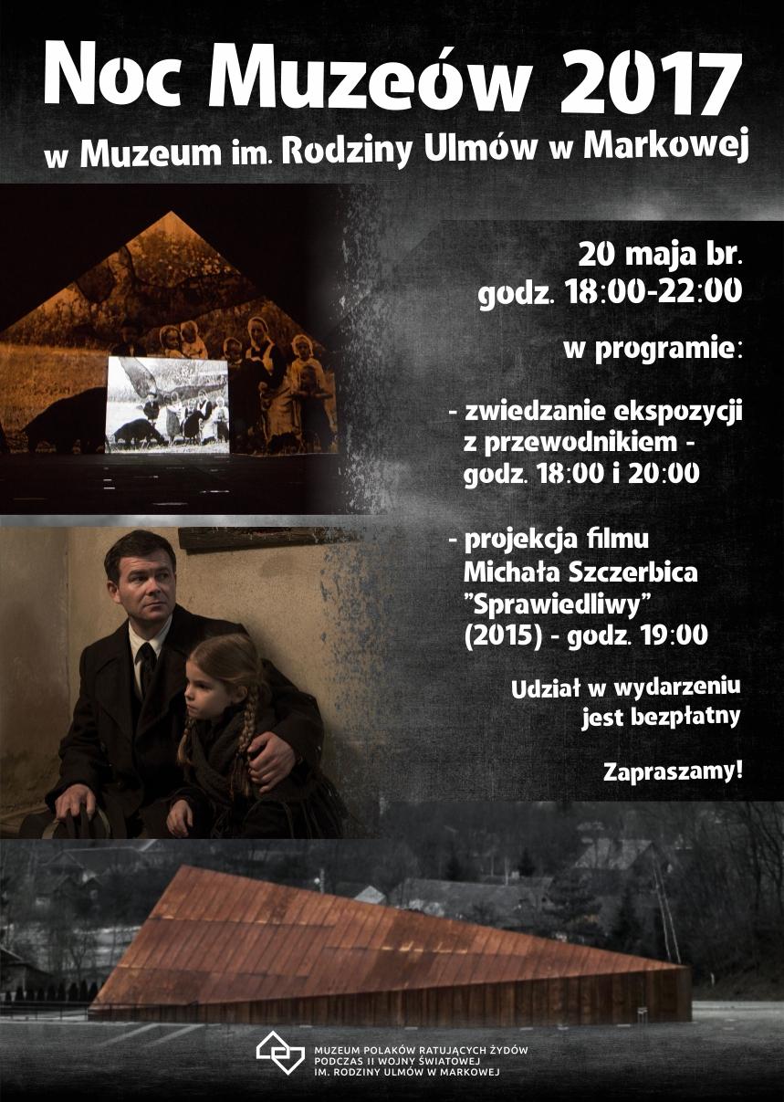 Noc Muzeów - plakat