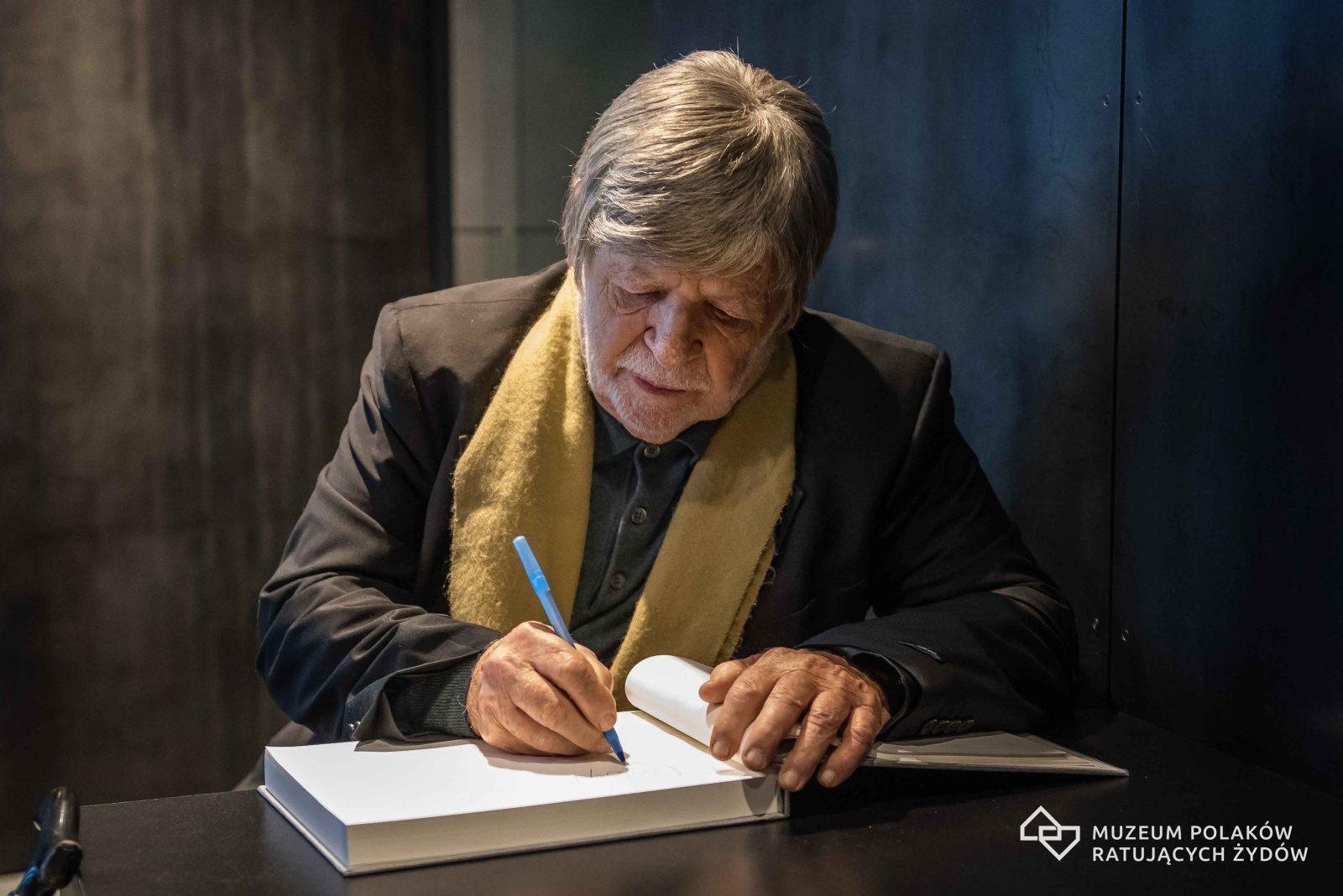 Prof. Szewach Weiss w Markowej 04.12.2017
